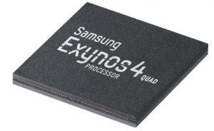Se anunció el procesador Exynos 4 Quad de Samsung, que se lanzará por primera vez en el próximo dispositivo Galaxy en mayo