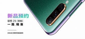 Se confirma que Lenovo Z6 Youth Edition se lanzará el 22 de mayo