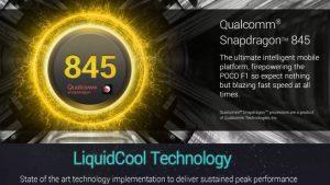 Se confirma que POCO F1 viene con Snapdragon 845 SoC y sistema de refrigeración líquida