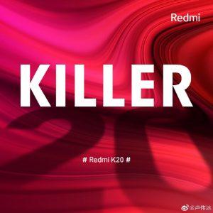 Las especificaciones completas del teléfono inteligente insignia Redmi K20 se filtraron en línea