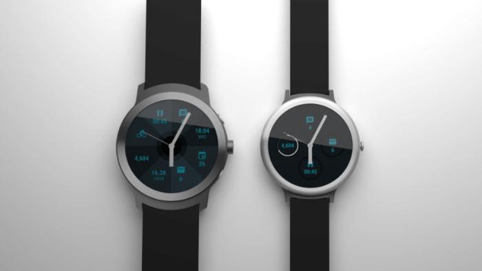 lg-built-google-android-wear-2-0-maqueta de reloj inteligente