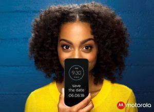 Se espera que Moto Z3 Play se anuncie el 6 de junio