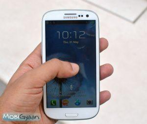 Samsung lanza la actualización OTA para Galaxy S III para corregir la falla de seguridad de TouchWiz