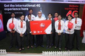 Se espera que los servicios 4G de Vodafone se desplieguen pronto en Calcuta