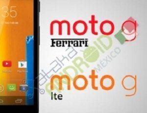 Se esperan las variantes Moto G LTE y Moto G Ferrari pronto