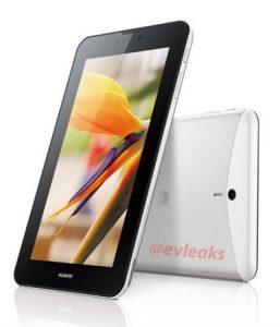 Se filtra la tableta Huawei MediaPad 7 Vogue