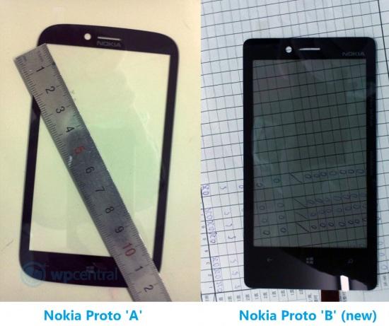 Se filtran los paneles frontales de los teléfonos inteligentes Windows Phone 8 de Nokia