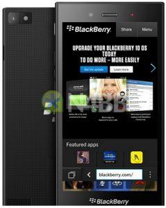 Se filtran los renders y las especificaciones de BlackBerry Jakarta Press
