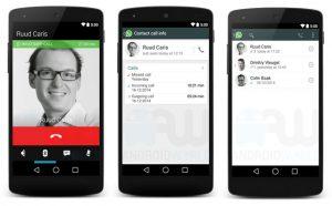 Se filtraron capturas de pantalla de la función de llamadas de voz de WhatsApp