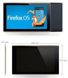 Se filtraron especificaciones e imágenes de la primera tableta con sistema operativo Firefox