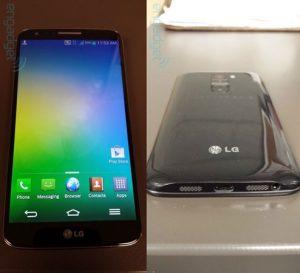 Se filtraron fotos en vivo del LG Optimus G2