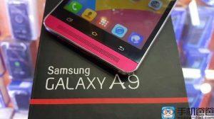 Se filtraron imágenes del Samsung Galaxy A9 con cámara giratoria