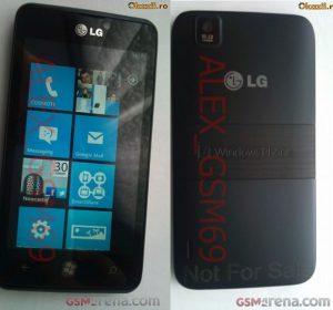 Se filtraron más fotos de Windows Phone con LG Fantasy / Miracle
