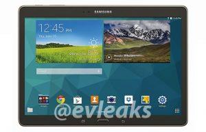 Se filtraron renders de prensa de Samsung Galaxy Tab S 10.5