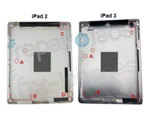 Se filtraron supuestas imágenes de la carcasa del iPad 3