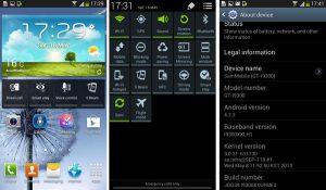 Se filtró la versión de prueba de Android v4.2.2 para Samsung Galaxy S III