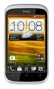 Se filtró la foto de prensa de HTC Golf, un teléfono inteligente Android ICS de nivel de entrada