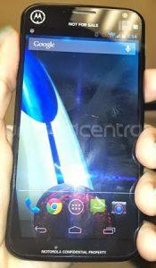 Se filtró una imagen del dispositivo de prueba Moto X para Verizon