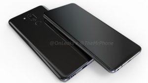 LG G7 muestra en línea filtrada el dispositivo con una pantalla con muescas, confirme el conector para auriculares de 3,5 mm