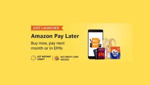 Se lanza el servicio de crédito instantáneo Amazon Pay Later en India