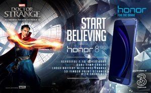 Se lanza la variante de Honor 8 Doctor Strange Limited Edition con Eye of Agamotto