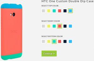Se lanzan las fundas personalizables HTC One 'Double dip';  compitiendo con Moto Marker