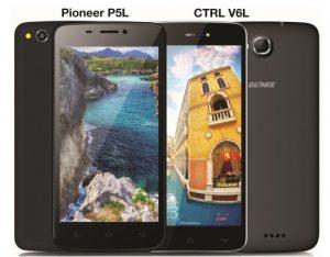 Se lanzan los teléfonos inteligentes Gionee CTRL V6L y Gionee Pioneer P5L 4G LTE