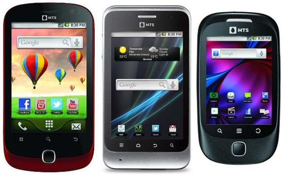 Se lanzan los teléfonos inteligentes MTS MTag 351, MTag 352 y MTag 281 Android 2.3