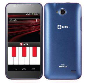 Se lanzó el teléfono MTS Blaze 4.5 dual SIM (CDMA + GSM) con procesador de cuatro núcleos para Rs.  9999