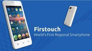 Se lanzó el teléfono inteligente Firstouch A10 que puede traducir del inglés a los idiomas regionales de la India