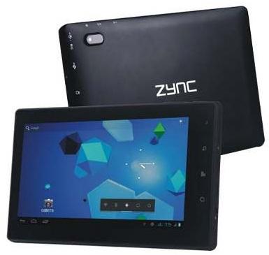 Se lanzó la tableta ICS de Android Zync Z-999 Plus para Rs.  11,990