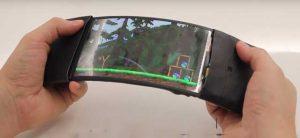 Se presenta el prototipo de teléfono inteligente ReFlex con pantalla flexible