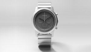 Se presenta el reloj inteligente Sony Wena Wrist con esfera redonda y manecillas analógicas
