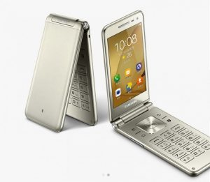 Se presenta el teléfono inteligente Samsung Galaxy Folder 2 con Android clamshell