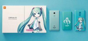 Se presenta el teléfono inteligente Xiaomi Redmi Note 4X Hatsune Miku Special Edition