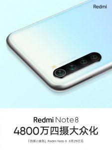 Se revela la configuración de la cámara Redmi Note 8;  La empresa comparte muestras de cámaras con poca luz.