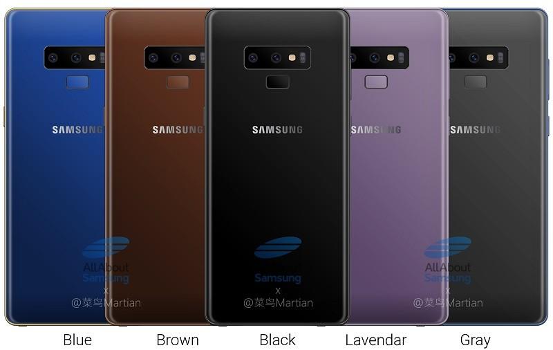 samsung-galaxy-note9-renders-colores-1-filtrados