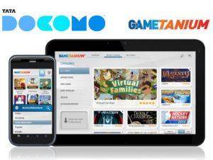 Servicio de suscripción de juegos de Android impulsado por Gametanium lanzado en Tata DOCOMO
