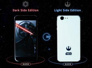 Sharp lanza el teléfono Star Wars con ediciones laterales Dark y Light