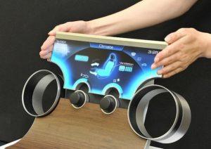 Sharp presenta nuevas pantallas de forma libre, que pueden adoptar cualquier forma