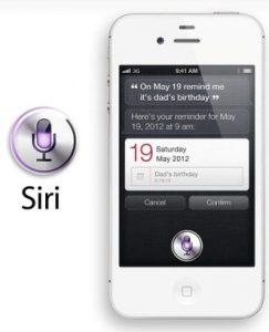 ¿Siri también llegará al iPhone 4?