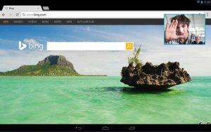 Skype para Android actualizado con función de video flotante para tabletas