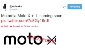 Smartphone Moto X +1 en proceso;  podría ser el próximo dispositivo insignia de Motorola [Rumor]