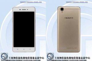 Smartphone de gama media Oppo A35 con pantalla HD de 5 pulgadas certificado en China
