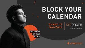 Smartron lanzará el teléfono inteligente de la marca Sachin Tendulkar el 3 de mayo