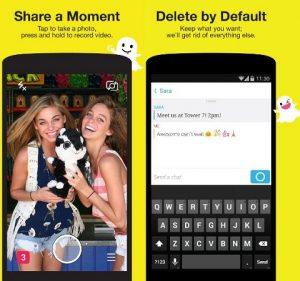 Snapchat agrega mensajería instantánea y soporte de chat de video en vivo