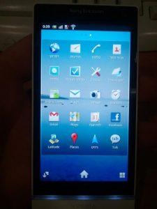 Sony Ericsson Xperia Arc HD visto con algunas imágenes