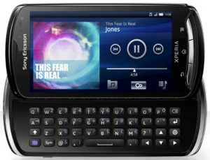 Sony Ericsson Xperia Pro disponible para pre-pedido en Reino Unido