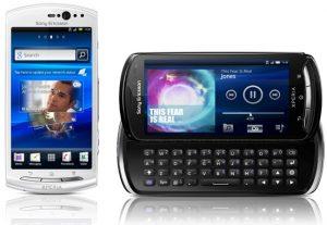 Sony Ericsson Xperia pro y Xperia neo V primera práctica [Videos]