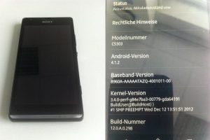 Sony 'Huashan' C530X se lanzará como Sony Xperia SP, los detalles de la fuga de Xperia L también